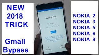 How To Frp Gmail Bypass Google Account Nokia 2  3  5  6  8 New 2018 Trick