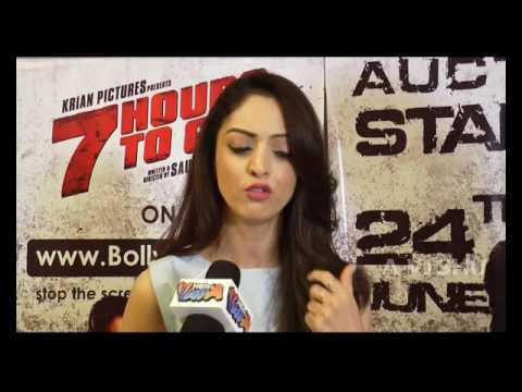 7 Hours To Go !  Team SANDEEPA DHAR and NATASA STANKOVIC and SHIV PANDIT Special Interview