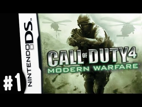 REMASTER THIS... Nintendo DS Call of Duty 4 Modern Warfare G