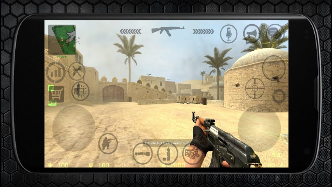 Counter Strike 1.6 на андроид - top-android.org