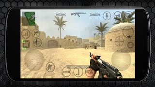 Counter Strike Source Android Gameplay