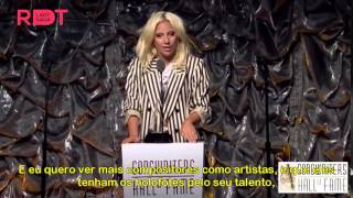 Baixar LEGENDADO PT-BR: Lady Gaga recebe o Icon Award
