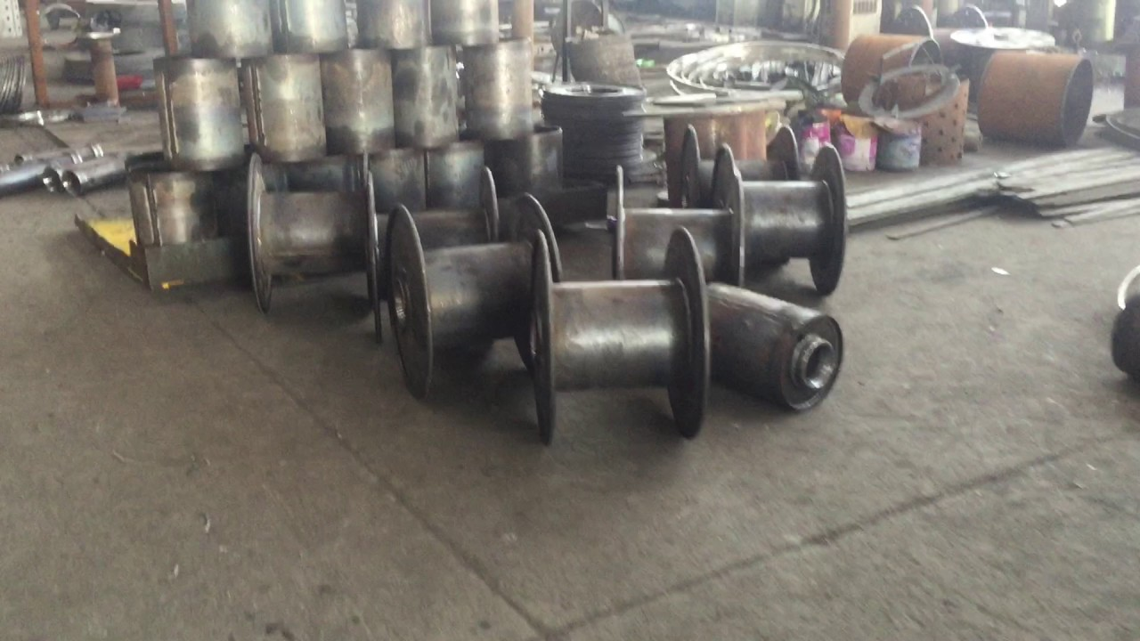Metal Wire Spools : Metal wire spool and cable reel according to