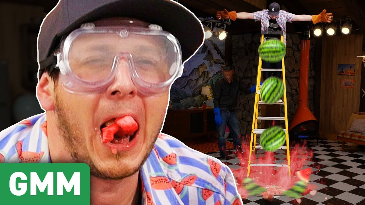 Liquid Nitrogen Watermelon Taste Test ft. ThreadBanger
