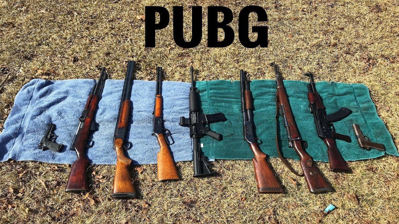 Wallpaper Pubg Real Life: PUBG Guns In Real Life