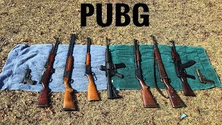 pubg guns in real life