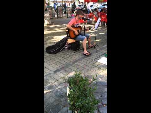 Montevideo Uruguay Street Musician