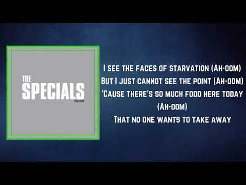 The Specials - The Lunatics (Full Lyrics)