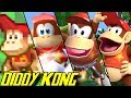 Evolution of Diddy Kong (1994-2018)