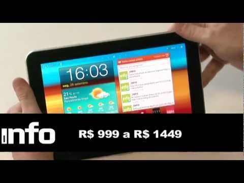 Galaxy Tab 8.9 esbanja recursos e leveza
