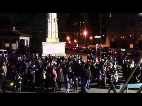 Light the Hanukkah Menorah @ Grand Army Plaza *LIVE*