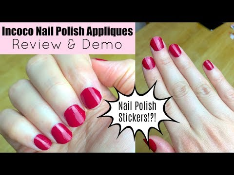 Beauty Hack - Nail Polish Stickers! | Incoco Review & Demo - YouTube