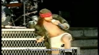 Guns N Roses Civil War Subtitulada en espaol HD Live in Paris 1992.mp3
