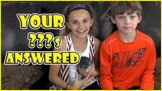 Q&A YOU ASK WE ANSWER Ep3 - We Answer Your Questions & Open Fan Mail | We Are The Davises