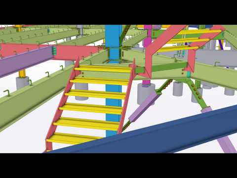 Edificio XPO1 - 2018 Tekla North America BIM Awards