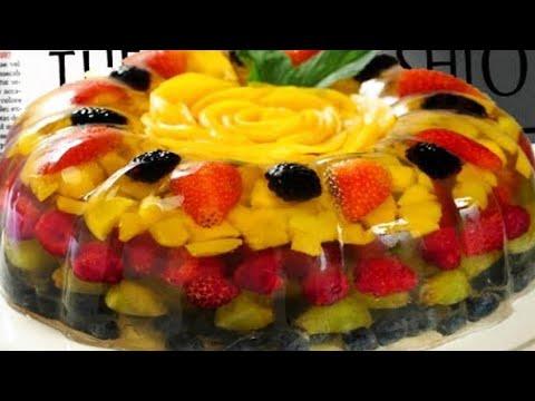 Fruit Cake Jelly Recipe L Yummy Dessert Recipe