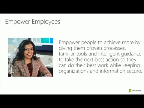 Overview: Microsoft Dynamics 365 for Talent - BRK2114