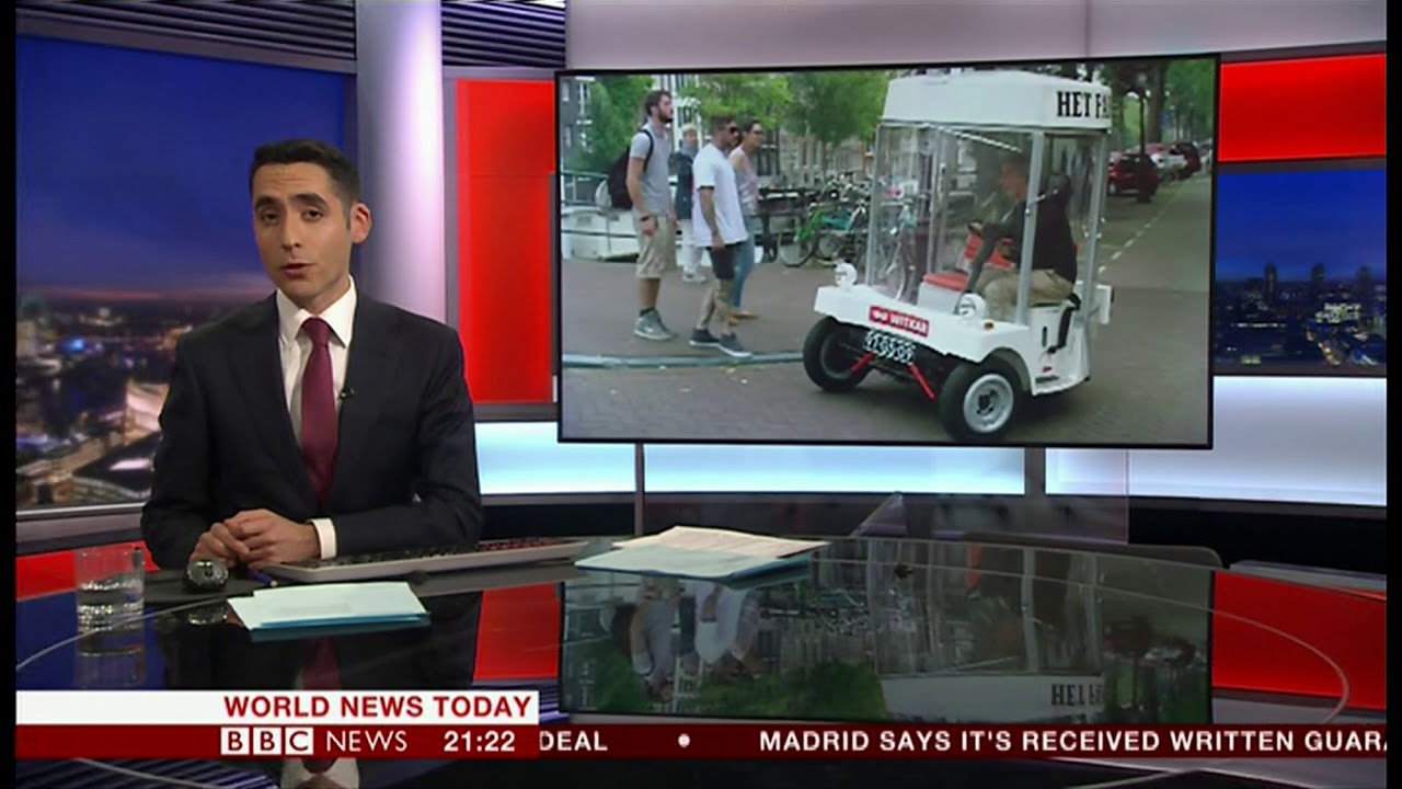 witkar the 1974 electric car (holland) - bbc news - 24th november