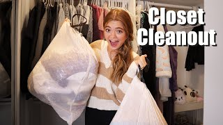 Clean With Me Q&A! Closet Cleanout!