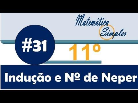 Aula 31 Matemática Simples 11º Sucessões- Indução e Número de Neper