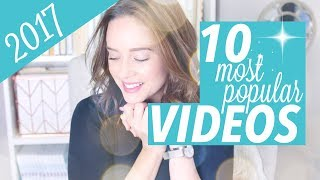 top 10 most popular videos of 2017 🌟
