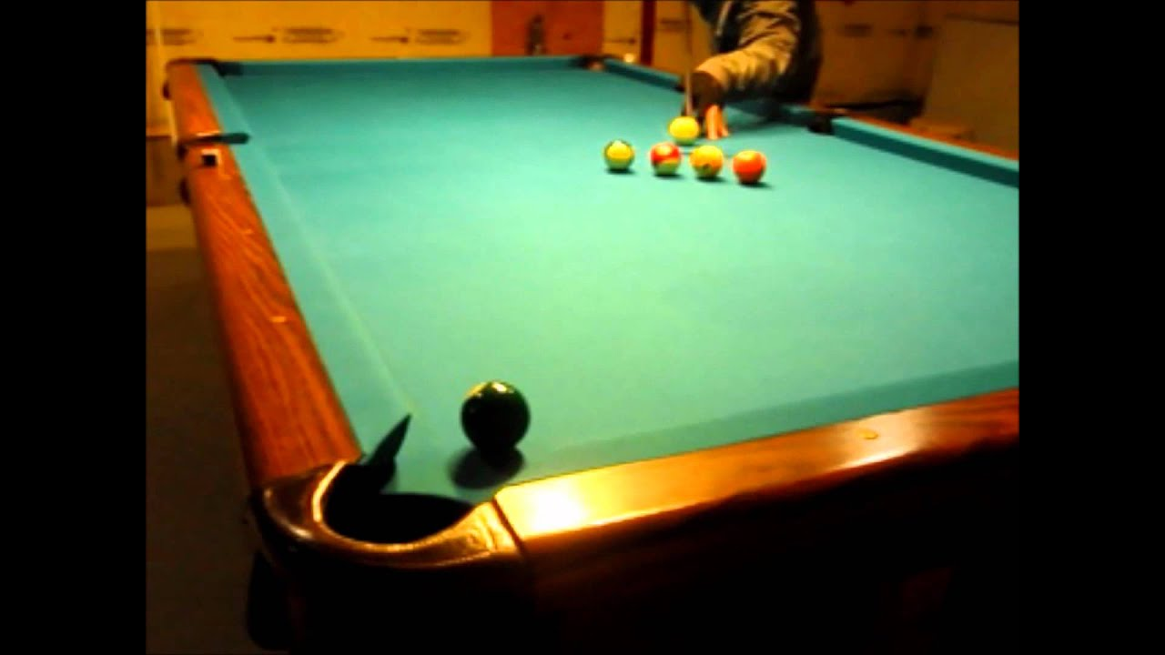 Awesome pool trick shots with ping pong balls at the end - Awesome swimming pool trick shots ...