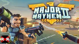 Major Mayhem 2 - Level 1-5 - iOS / Android Walkthrough Gameplay