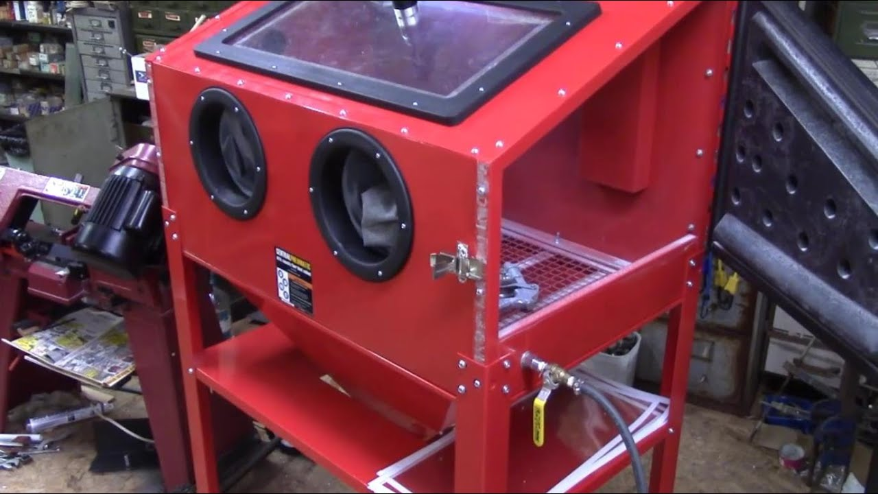 Harbor Freight Abrasive Blast Cabinet Review Review Home Co