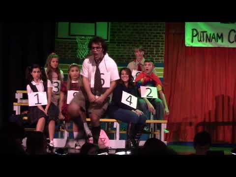 Magic Foot - The 25th Annual Putnam Country Spelling Bee - Garden City High School - 2017