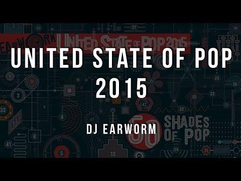 DJ Earworm - United State of Pop 2015 (50 Shades of Pop) [Lyrics]