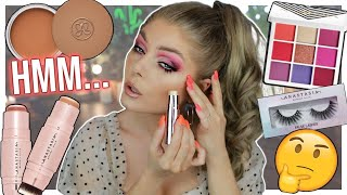 Let's Try The NEW Anastasia Cream Bronzer, Blush & Highlighter | HIT OR MISS?