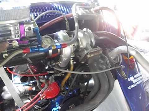 2332 TURBO NITRO,VW BUG, BY CUNCO RACING ENGINES