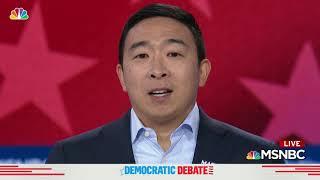 Andrew Yang to Vladimir Putin: 'Sorry I Beat Your Guy'   Democratic Debate