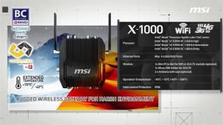 MSI X1000 ENVIRONMENT-PRO IoT Gateway