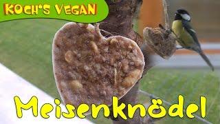 Meisenknödel selber machen - Vogelfutter - Vögel füttern - vegane Rezepte von Koch