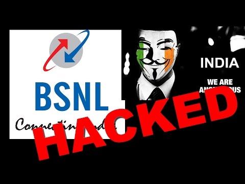 BSNL Hacked at Digital India Week
