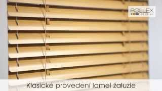 Ukázka lamel žaluzie - klasické a celostínící provedení | zaluzie-rolety.com