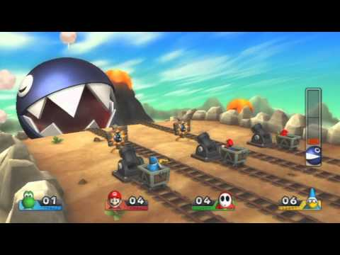 Mario Party 9 - All Boss Battle Mini Games