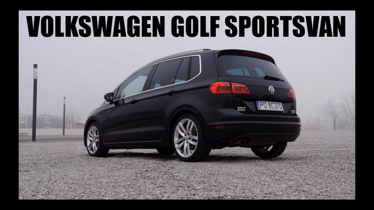(ENG) Volkswagen Golf Sportsvan (SV) - Test Drive and ...