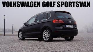 (ENG) Volkswagen Golf Sportsvan (SV) - Test Drive and Review