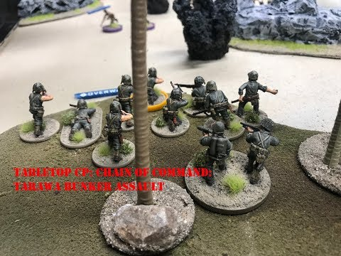 Tabletop CP: Chain of Command- Tarawa Bunker Assault