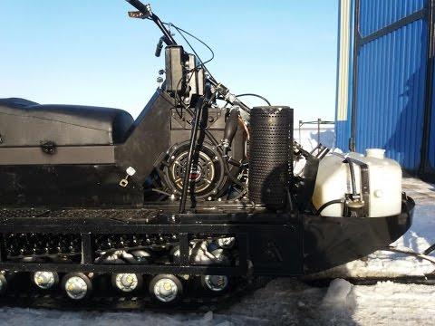 Обзор снегохода БУРАН с  двигателем ЛИФАН