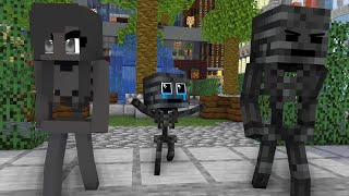 Monster School : POOR BABY WITHER SAD STORY - Minecraft Animation