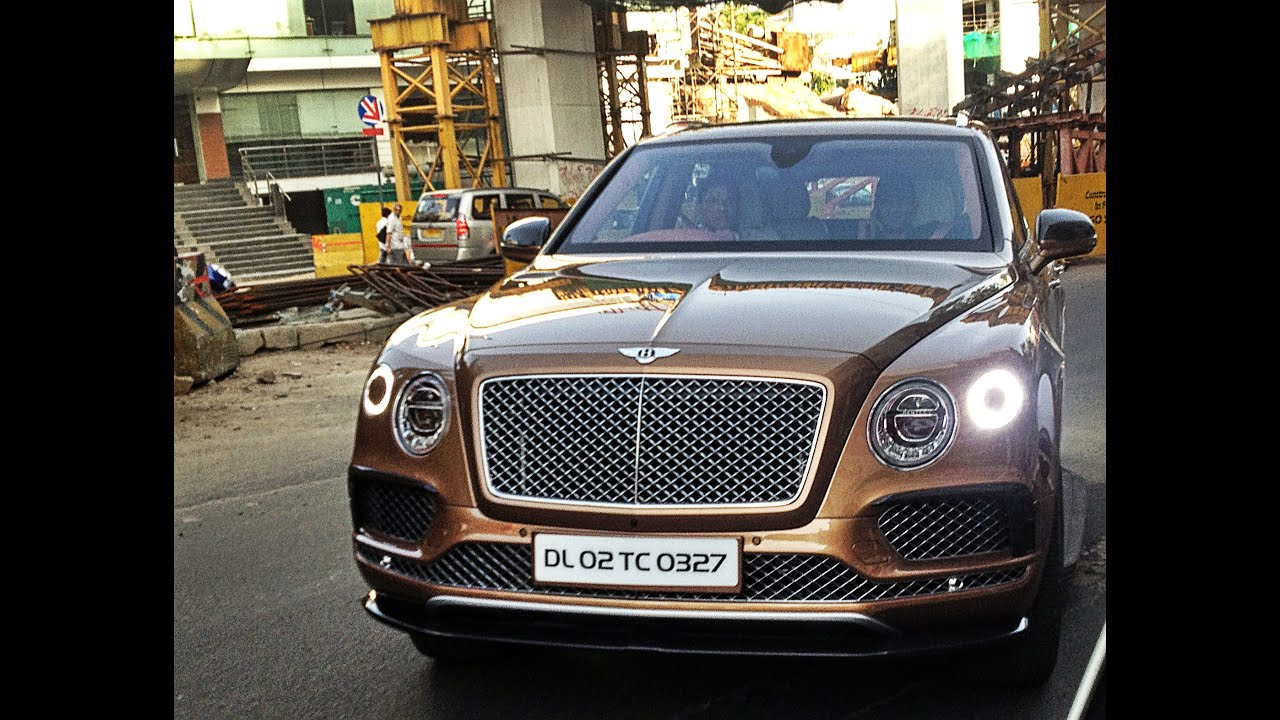 the fastest suv in the world | 2017 bentley bentayga in india