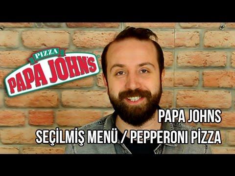 Papa Johns - Yemek Paket Servis İnceleme ve Yorumlar / Pepperoni Pizza - Tavuk Kanadı