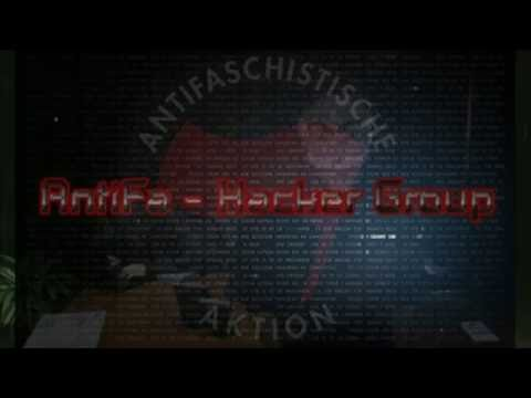 Antifa Hacker Group - message from France
