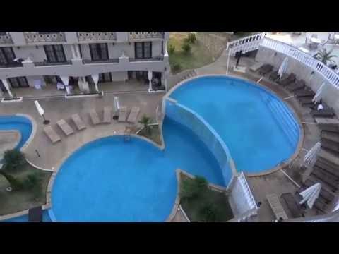 VLOG. Болгария/Отель The Cliff Beach & Spa Resort в Обзоре/пляж/город.
