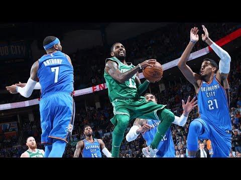Thunder Blew 18 Pt Lead! Celtics 7 Game Win Streak! 2017-18 Season