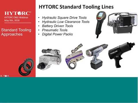 Oil & Gas Improve job safety and job time with HYTORC Bolting Solutions
