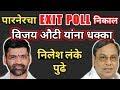 प रन र मध न व जय औट य न म ठ धक क EXIT POLLच न क ल Parner Vidhansabha Exit Poll 2019 mp3